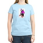 Latin Dancer #2 Women's Pink T-Shirt