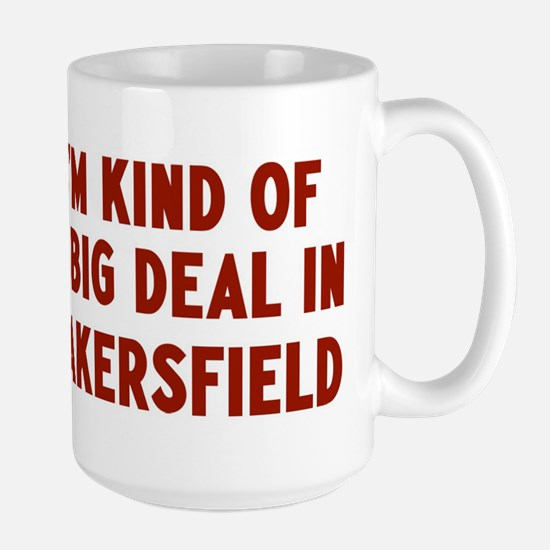 Big Deal in Bakersfield Large Mug