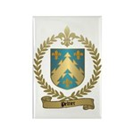 PELTIER Family Crest Rectangle Magnet (100 pack)