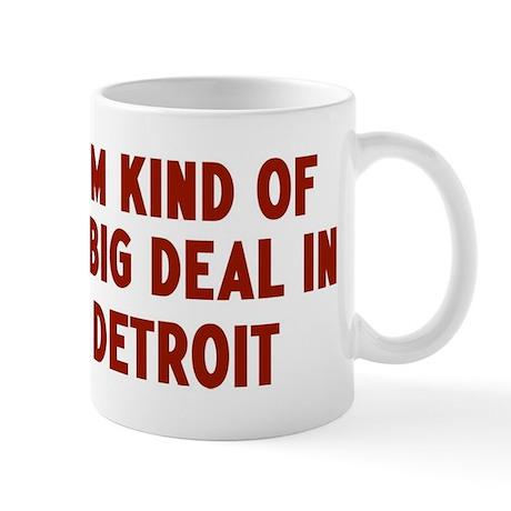 Big Deal in Detroit Mug