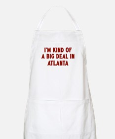 Big Deal in Atlanta BBQ Apron