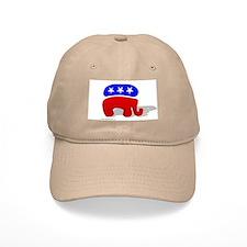 3D GOP Republican Elephant Baseball Cap