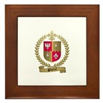 PELLETRET Family Crest Framed Tile
