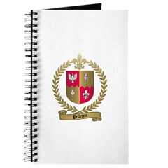 PELLETRET Family Crest Journal