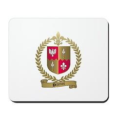 PELLETRET Family Crest Mousepad