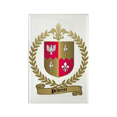 PELLETRET Family Crest Rectangle Magnet (10 pack)
