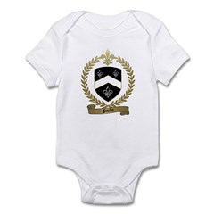 PAULIN Family Crest Infant Creeper