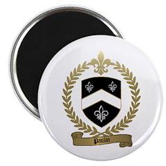 PAULIN Family Crest Magnet
