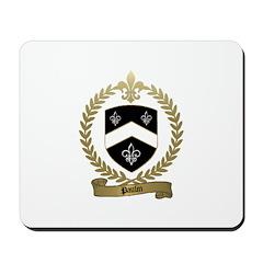 PAULIN Family Crest Mousepad
