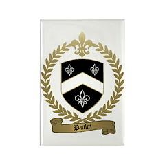 PAULIN Family Crest Rectangle Magnet (10 pack)