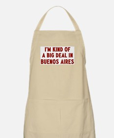 Big Deal in Buenos Aires BBQ Apron