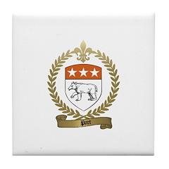 PART Family Crest Tile Coaster