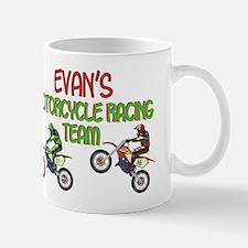 Evan's Motorcycle Racing Mug