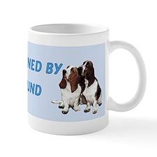 Proudly Owned Basset Hound Mug