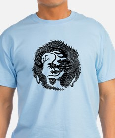 Japanese Dragon Crest T-Shirt