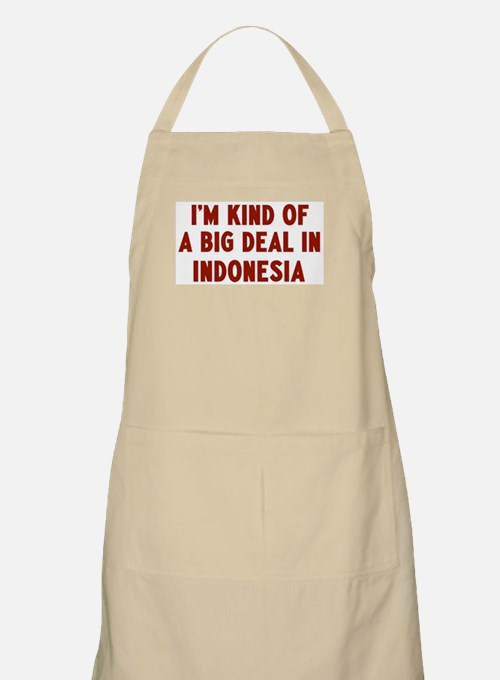 Big Deal in Indonesia BBQ Apron
