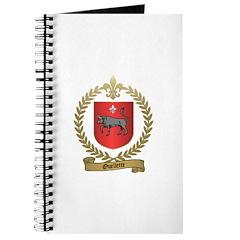 OUELLETTE Family Crest Journal