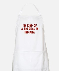 Big Deal in Indiana BBQ Apron