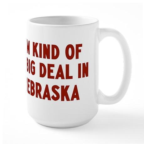 Big Deal in Nebraska Large Mug