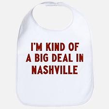 Big Deal in Nashville Bib