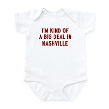Big Deal in Nashville Infant Bodysuit