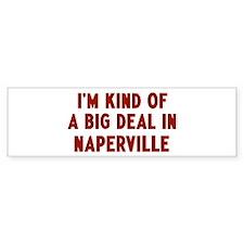 Big Deal in Naperville Bumper Sticker (50 pk)