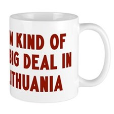Big Deal in Lithuania Small Mugs