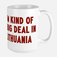 Big Deal in Lithuania Ceramic Mugs