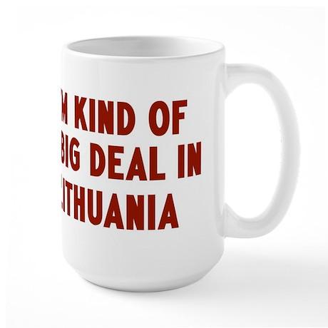 Big Deal in Lithuania Large Mug