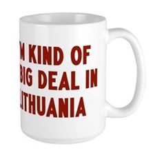 Big Deal in Lithuania Mug