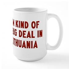 Big Deal in Lithuania Mug