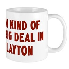 Big Deal in Layton Mug