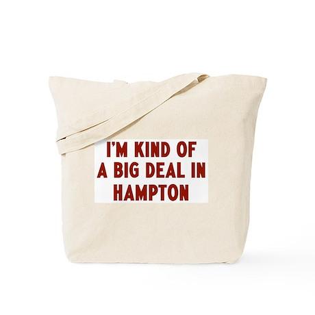 Big Deal in Hampton Tote Bag