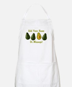 PERSONALIZED Avocados Graphic Light Apron