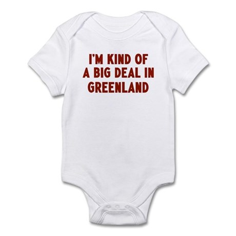 Big Deal in Greenland Infant Bodysuit