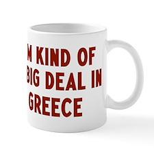 Big Deal in Greece Mug