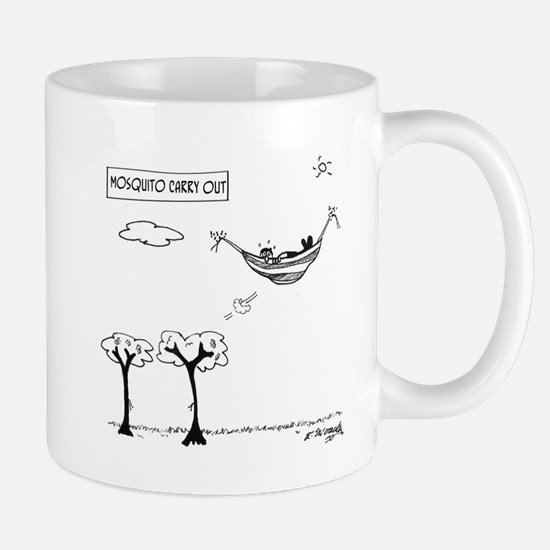 Mosquito Cartoon 3394 Mug