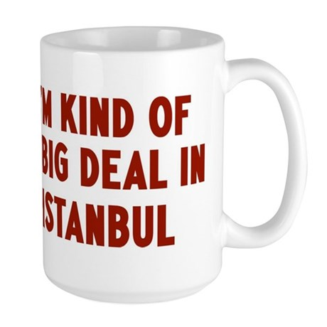 Big Deal in Istanbul Large Mug