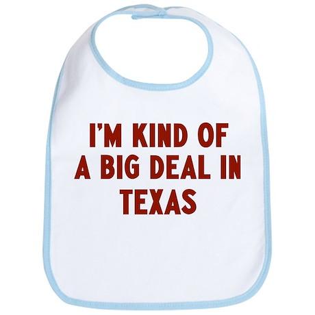 Big Deal in Texas Bib