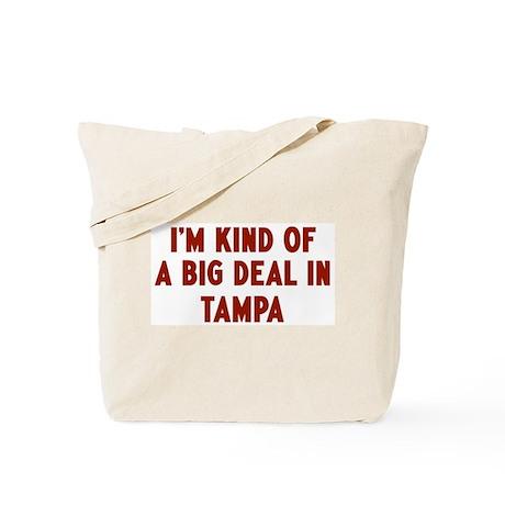 Big Deal in Tampa Tote Bag