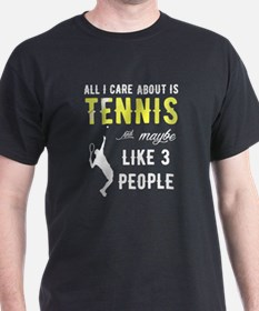 Unique Funny tennis sayings T-Shirt