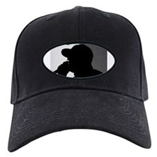 Cute Black white logo Baseball Hat