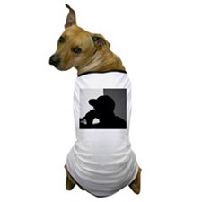 Cute Basic black and white regular logo. Dog T-Shirt