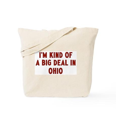 Big Deal in Ohio Tote Bag