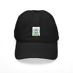 NICOLAS Family Crest Black Cap