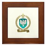 NICOLAS Family Crest Framed Tile