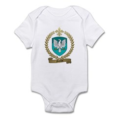 NICOLAS Family Crest Infant Creeper