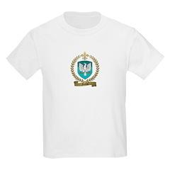 NICOLAS Family Crest Kids T-Shirt