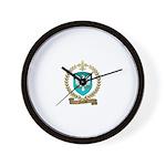 NICOLAS Family Crest Wall Clock
