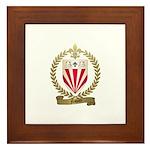 NAQUIN Family Crest Framed Tile